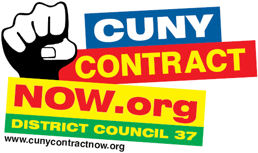 CUNY Contract NOW art