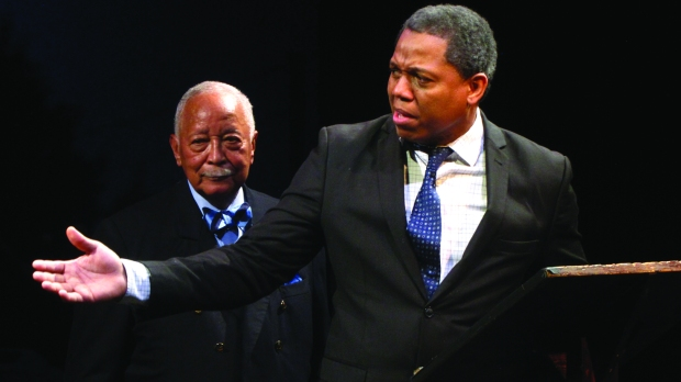 Former New York City Mayor David N. Dinkins reprises his pivotal involvement during Nelson Mandela's dramatic visit to the city in June 1990.