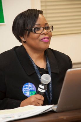 Reverend Dr. Patricia Murphy, a member of Local 299, was the keynote speaker at the New York AFSCME Labor and Faith meeting on April 4??.