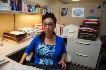 MELS Staff Attorney Admarie Llewellyn is one of 65 attorneys who have helped hundreds of clients like Eva Ozoria and Maxine Newkirk during their hour of need. Photo: Clarence Elie-Rivera