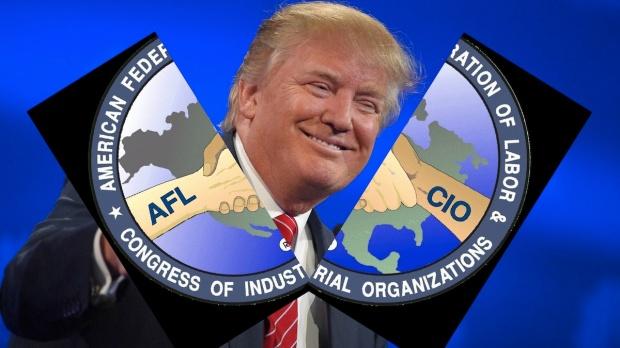 trump-unions