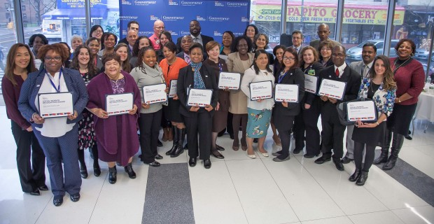 Local 768 social workers honored by HHC