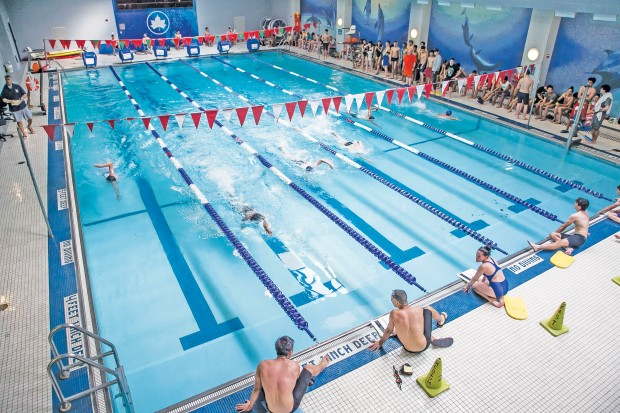 Life guard training at Chelsea Recreation Center