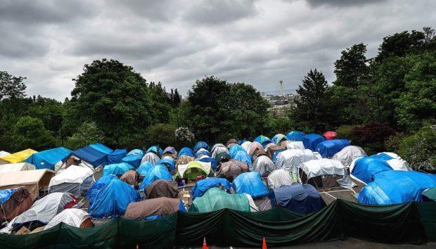 Tent City, Seattle, Washington