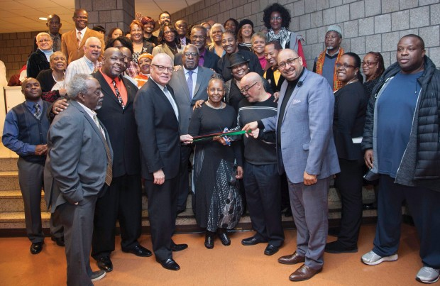 Black history month opening celebration and Lillian Roberts 90th B'day